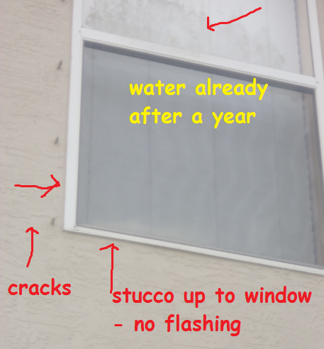 window no flashing