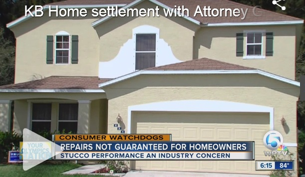 WPTV KB Home AG Settlement